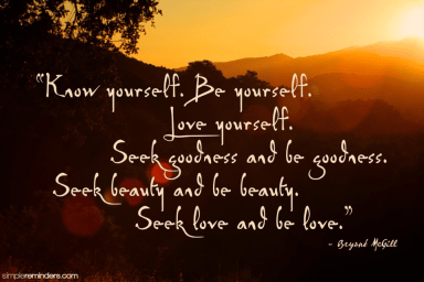 251 Relax and Succeed - Know yourself be yourself