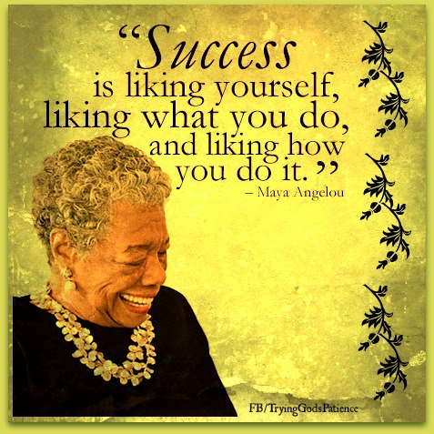 257 Relax and Succeed - Success is liking yourself