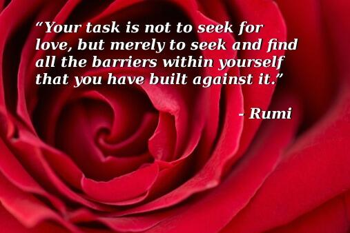 377 Relax and Succeed - Your task is not to seek for love