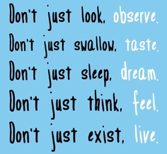 451 Relax and Succeed - Don't just look observe