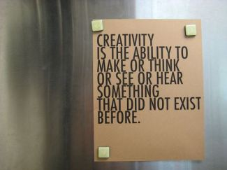 458 Relax and Succeed - creativity is the ability to