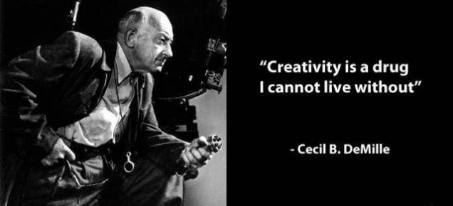 563 Relax and Succeed - Creativity is a drug