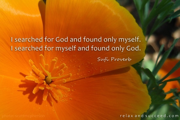 582 Relax and Succeed - I searched for God