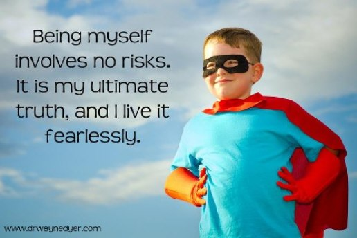 609 Relax and Succeed - Being myself involves no risks