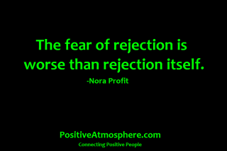 622 Relax and Succeed - The fear of rejection