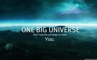 638 Relax and Succeed - One big universe