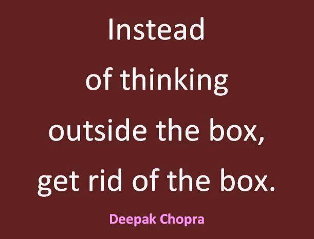 648 Relax and Succeed - Instead of thinking outside the box