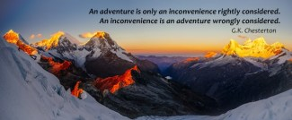 653 Relax and Succeed - An adventure is only an inconvenience