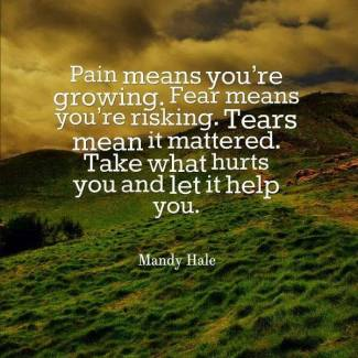 653 Relax and Succeed - Pain means you're growing