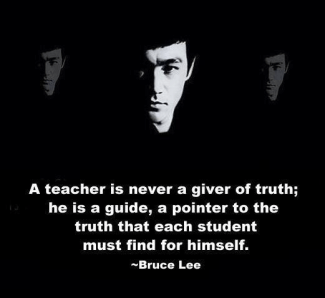 677 Relax and Succeed - A teacher is never a giver of truth