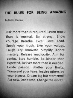 677 Relax and Succeed - The rules for being amazing