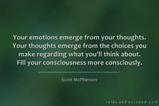 707 Relax and Succeed - Your emotions emerge