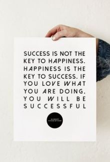 767 Relax and Succeed - Success is not the key to happiness
