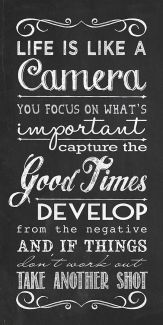 769 Relax and Succeed - Life is like a camera
