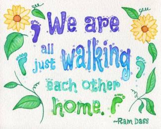 798 Relax and Succeed - We are all just walking