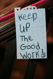 856 Relax and Succeed - Keep up the good work