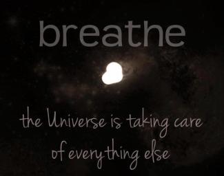 924 Relax and Succeed - Breathe the universe is taking care