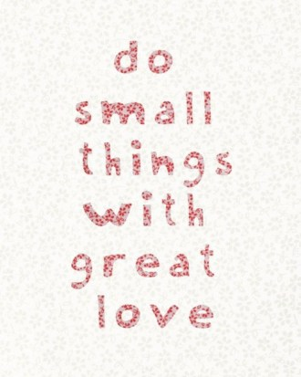 951 Relax and Succeed - Do small things with great love