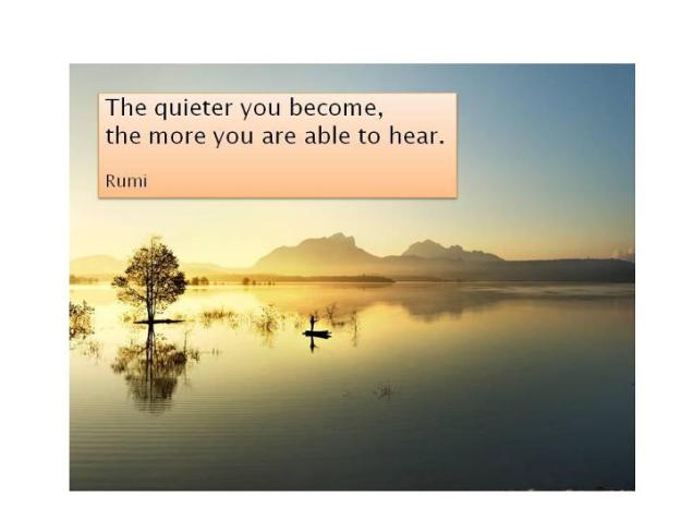 955 Relax and Succeed - The quieter you become