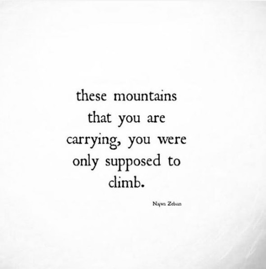955 Relax and Succeed - These mountains that you are carrying