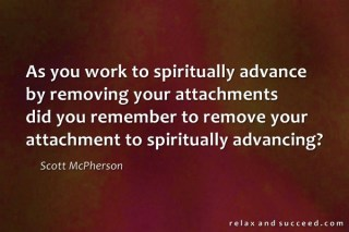 975 Relax and Succeed - As you work to spiritual advance