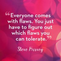Flaws and Self Esteem