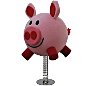 1209 Relax and Succeed - Happy piggy desk wobbler