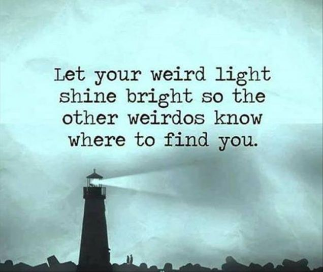 185 Relax and Succeed - Let your weird light shine