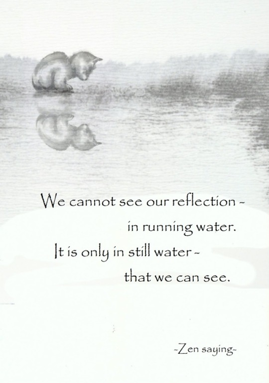 200 Relax and Succeed - We cannot see our reflection