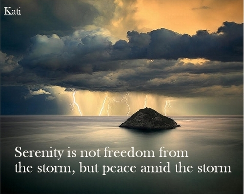 1227 Relax and Succeed - Serenity is not freedom from the storm