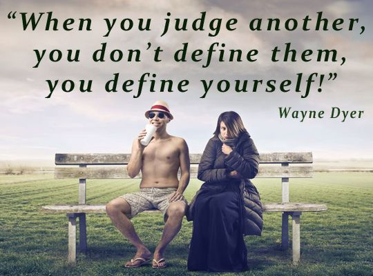 1230 Relax and Succeed - When you judge someone