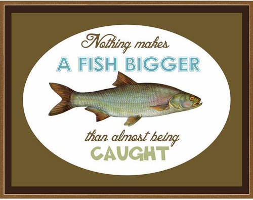 1234 Relax and Succeed - Nothing makes a fish bigger