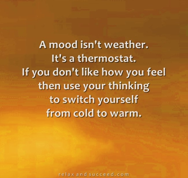1240 Relax and Succeed - A mood isn't weather