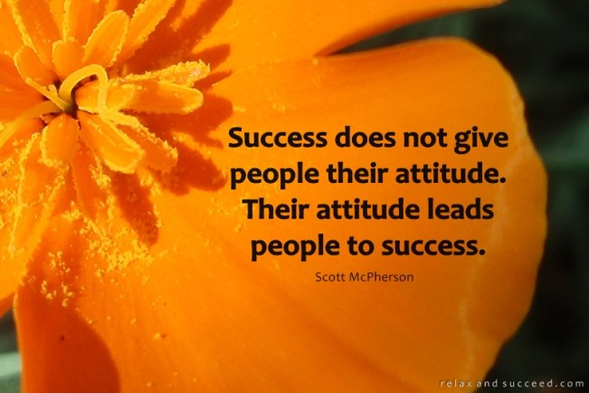 184 Relax and Succeed - Success does not give people their attitude