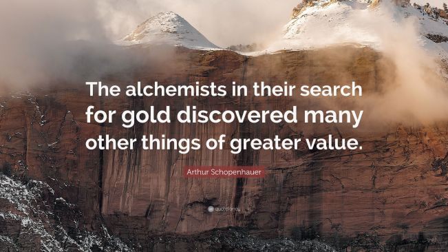 1256 Relax and Succeed - The alchemists in their search for gold