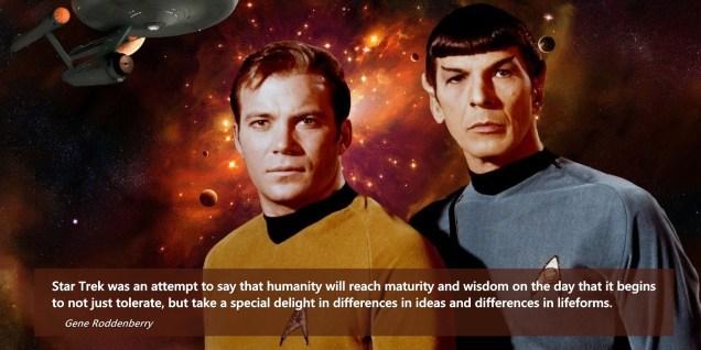 1266 Relax and Succeed - Star Trek Star Trek was an attempt