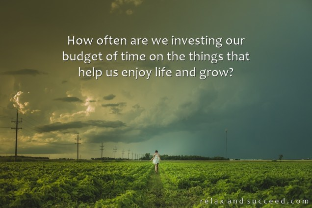 1298 Relax and Succeed - How often are we investing