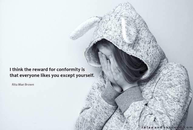 1366 Relax and Succeed - I think the reward for conformity