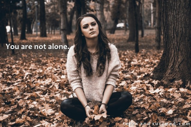 1369 Relax and Succeed - You are not alone