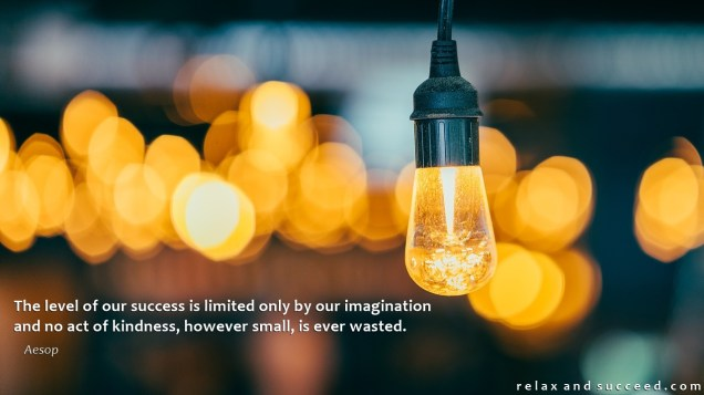 1379 Relax and Succeed - The level of our success is limited only by our imagination
