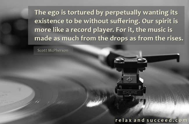 1403 Relax and Succeed - The ego is tortured by perpetually wanting