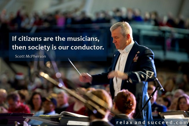 1431 Relax and Succeed - If citizens are the musicians