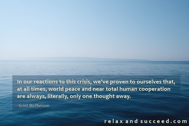 1437 Relax and Succeed - In our reaction to this crisis 2