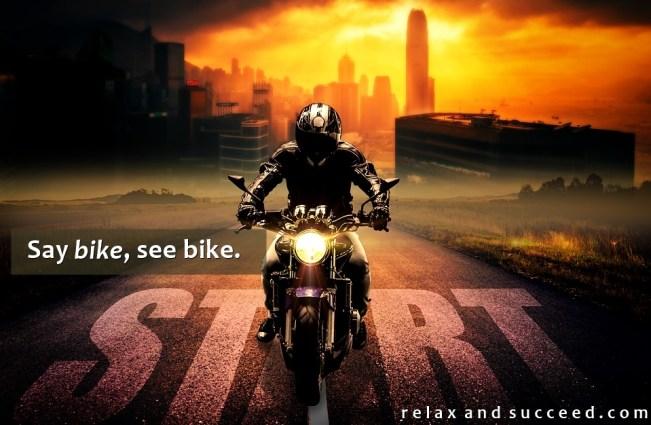 1491 Relax and Succeed - Say bike see bike