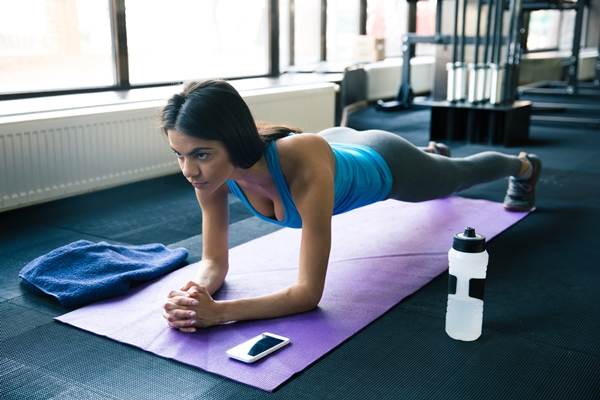 Comment soulager le mal au dos - Le gainage ou planche