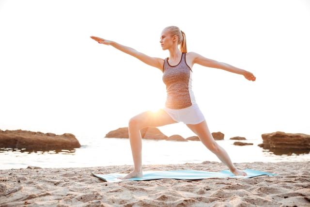 Exercice d'étirement pour retrouver son energie positive