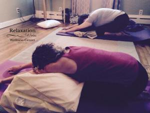 Restorative YOGA Childs Pose