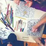 adult coloring class