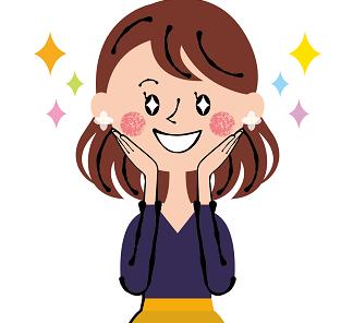 幸せな人のイラスト