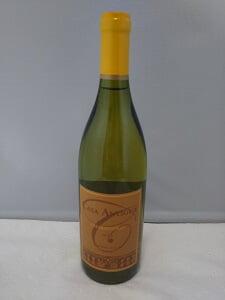 戴いたワインの写真